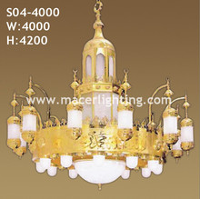 Mosque chandelier islamic lamp for mosque project