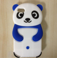 Cute Silicon Cvoer For iPhone 6s Panda Cell Phone Case Plastic Phone Case