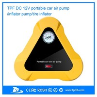 Unique new design TPF AP-05 DC 12V portable mini car tyre inflator for cars, bicycles, basketball, balloons, motorcycles