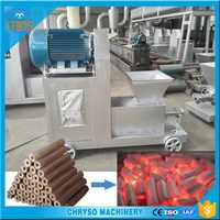 50-80mm diameter hollow charcoal briquette making machine made in china