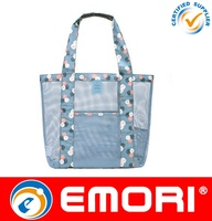 singapore market tote mesh bag