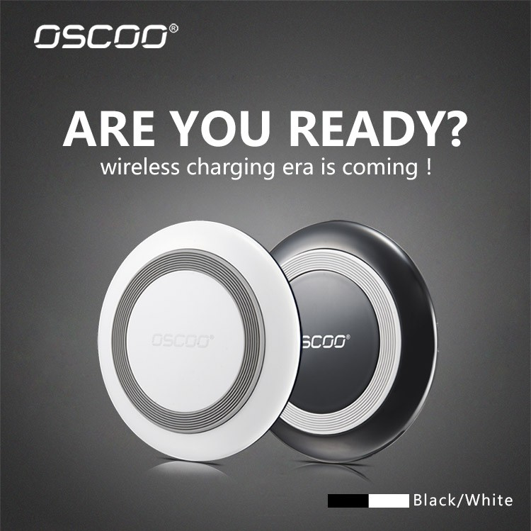 Oscoo Hot Selling Qc2.0 Wireless Charger For Samsung For Cell Phone