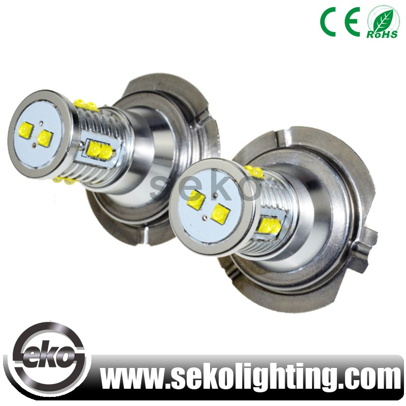 50W H7 H16 HB3 HB4 XBD LED car SMD fog driving DRL bulb light
