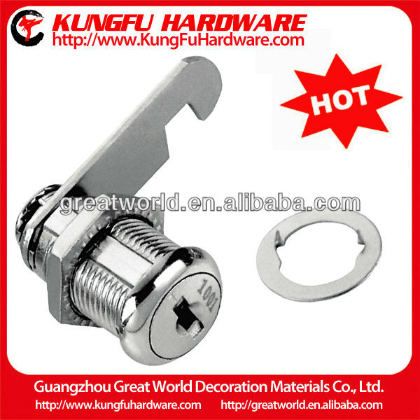 Zinc alloy commercial glass door lock