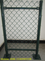 (ISO9001-2008 certified) PVC coated chain link fence/garden netting/iron fence