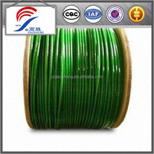 PVC Coated Galvanized elevator Steel Wire Rope Cable