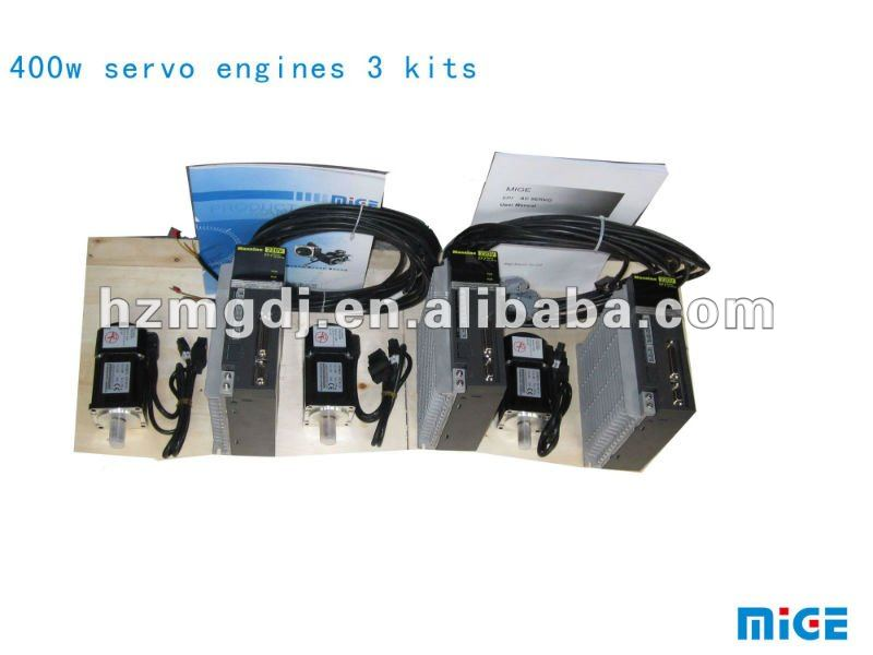 400w servo engines 3 kits