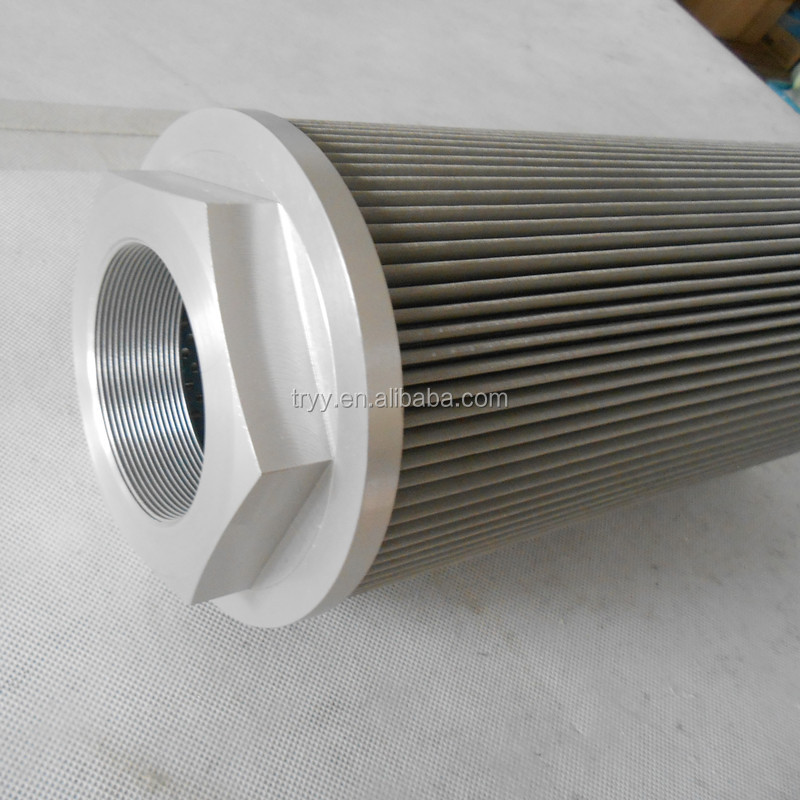 Stainless steel suction filter element hydraulic oil filter WU-100X*-J
