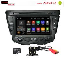 Android 6.0/7.1 Car dvd gps radio Player For Hyundai Veloster with audio av system 7'' Touch Screen mirror bluetooth