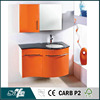 PVC wash basin mirror cabinet bathroom vanity base cabinet