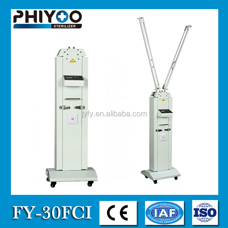 ce approved mobile uv light sanitizer for operating room