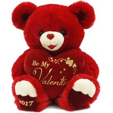 valentine stuffed animal bear , valentine teddy bear stuffed toy