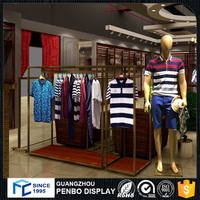 Professional customized garment shop interior design, clothes shop design and furniture