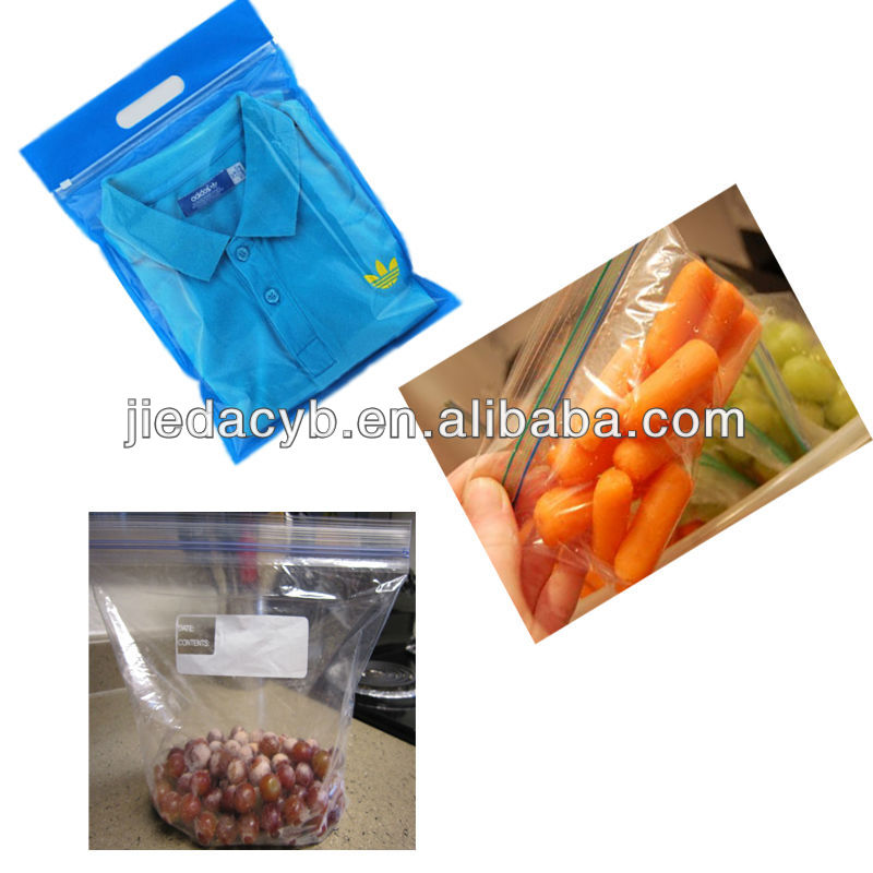 Plastic Bag Maker Machine for Fruit and Clothes
