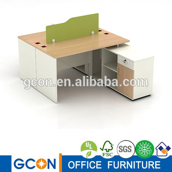 Latest office partition workstation design/ clerical table