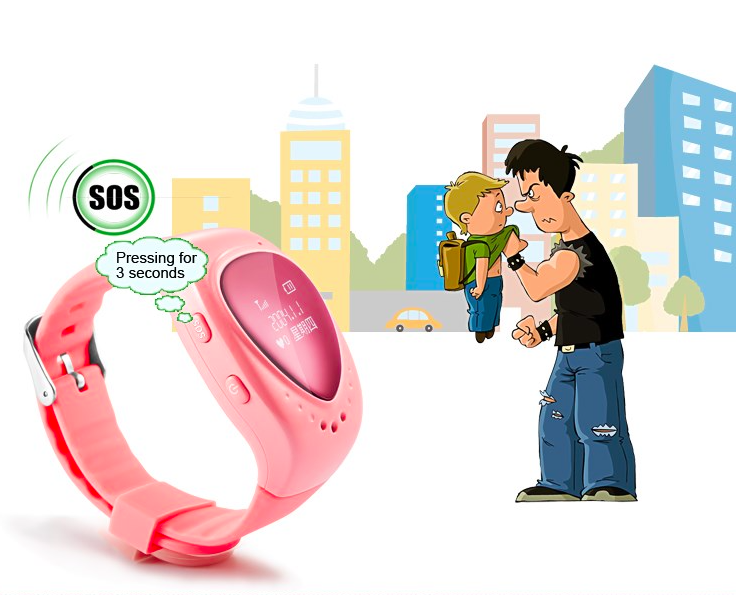 New Original GPS/GSM/Wifi Tracker Watch Gifts kids smart gps watch with SOS Support gps kids watch