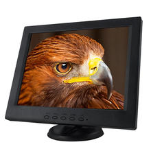 Cheap and high quality stable metal base 12inch frameless touch screen monitor