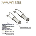TANJA A13 steel spring claw latch nickel plated/spring lock hook