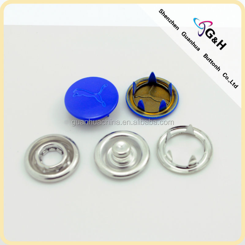 clothing snap fasteners