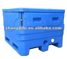 top quanlity rotational moulding insulated plastic fish ice cooler box