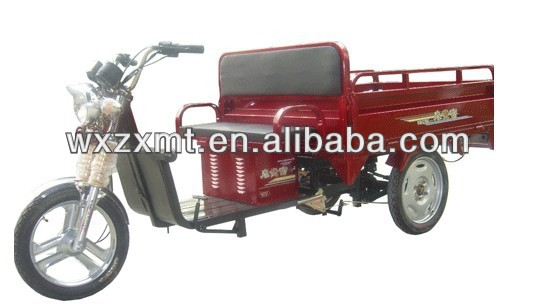 electric three wheel motorcycle/ electric cargo tricycle