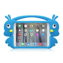 Low cost Classical Fancy cute cartoon animal shape silicone case for ipad mini