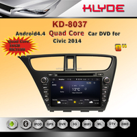 klyde special 8 inch car multimedia system for honda civic