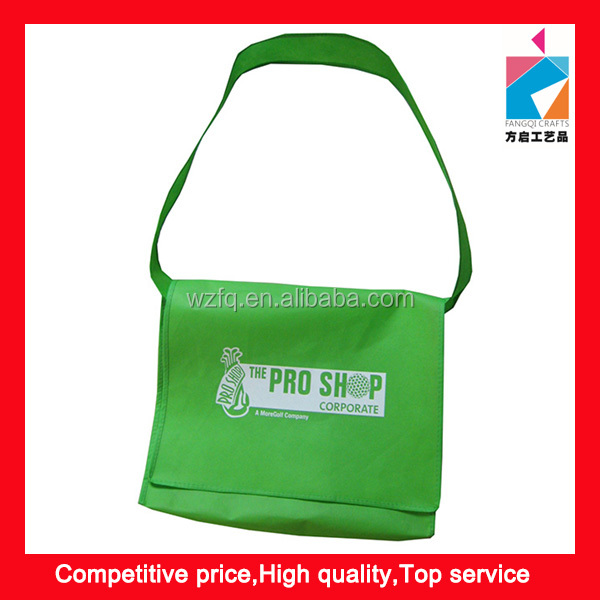Eco Promotion Light-Weight Non Woven Lid Cross Shoulder Bag