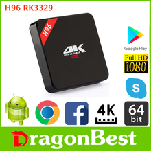 good quality H96 RK3229 1G 8G TV BOX download free games with &ISO Android 6.0 set top box