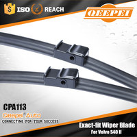 Wolesale flat soft flexible wiper blade car accessories windshield wiper for Volvo S40 II
