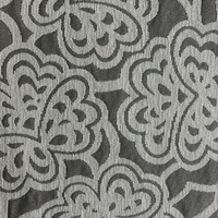 Gold supplier antique furniture fabrics, polyester and cotton material chenille cloth
