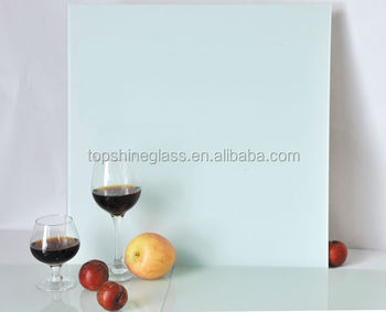 4mm magnetic glass board with ANSI and EN12150 certificate