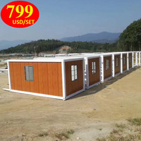 shipping container prefabricated glass wooden house prices