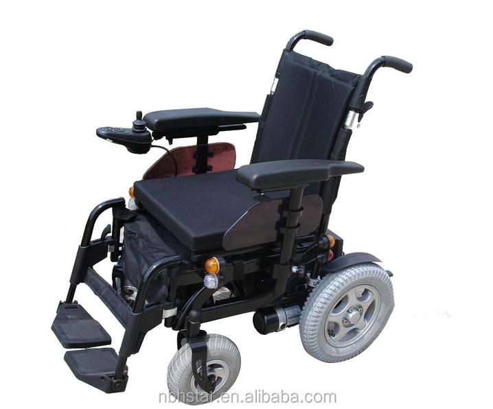 fauteuil pliant pliable fauteuil roulant lectrique pour personnes handicap es r glable. Black Bedroom Furniture Sets. Home Design Ideas