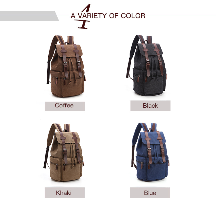 Solid color bag school 빈티지 책 백 school 레저 싼 school bag