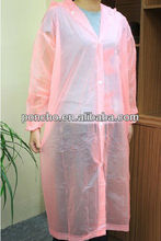 hot sell women's pink raincoat