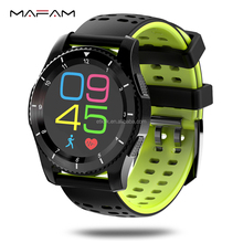 Christmas Gift 3G WIFI Smartwatch Cell Phone All-in-One Bluetooth Smart Watch Android 5.1 SIM Card GPS Camera Heart Rate Monitor