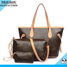 Cheap China Wholesale Women big ladies set hand bags leather handbags designer
