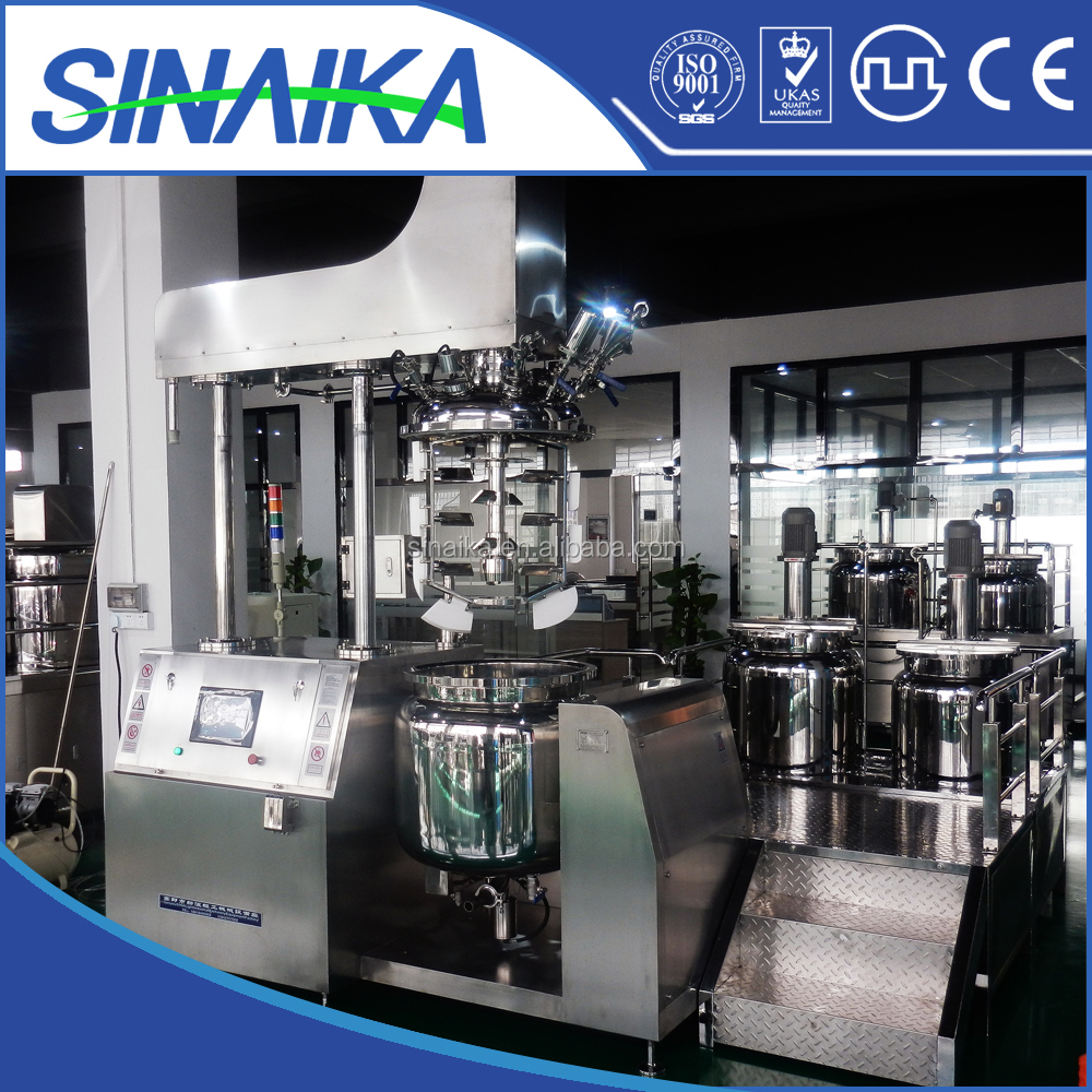500L Dairy vacuum emulsifying homogenizing machine