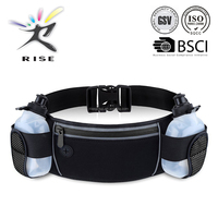 2015 new products elastic fitness running hydration belt