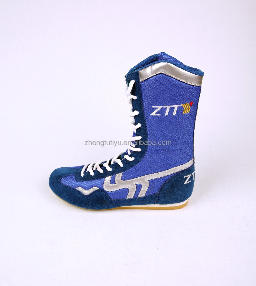 new proudcts custom made high-top leather boxing shoes boots