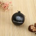 Hot selling keyring 3D PVC ball key ring chain for wholesale