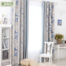 Wholesale blackout polyester printing european modern curtains