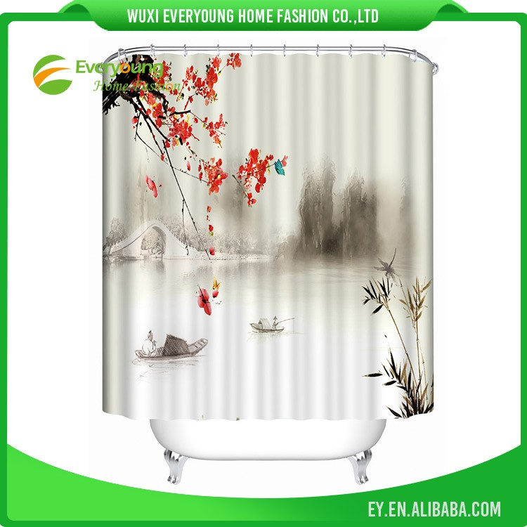 Special Style Fashion Elegant 3D Shower Curtains