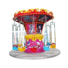 amusement flying chair theme park games for sale