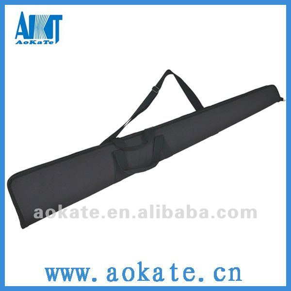 outdoor sports promotional black hunting double gun case