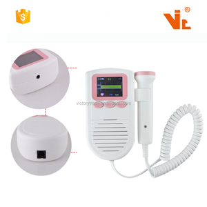 V-KFJ2035 Promotion best price pocket fetal doppler baby heart rate monitor