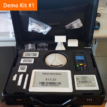 Electronic Shelf Label E-ink Price Tag SunpaiTag Demo Kit