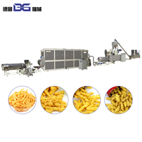 Fried Nik Nak Corn Curl Kurkure Snack Food Making Cheetos Machine/Production Line