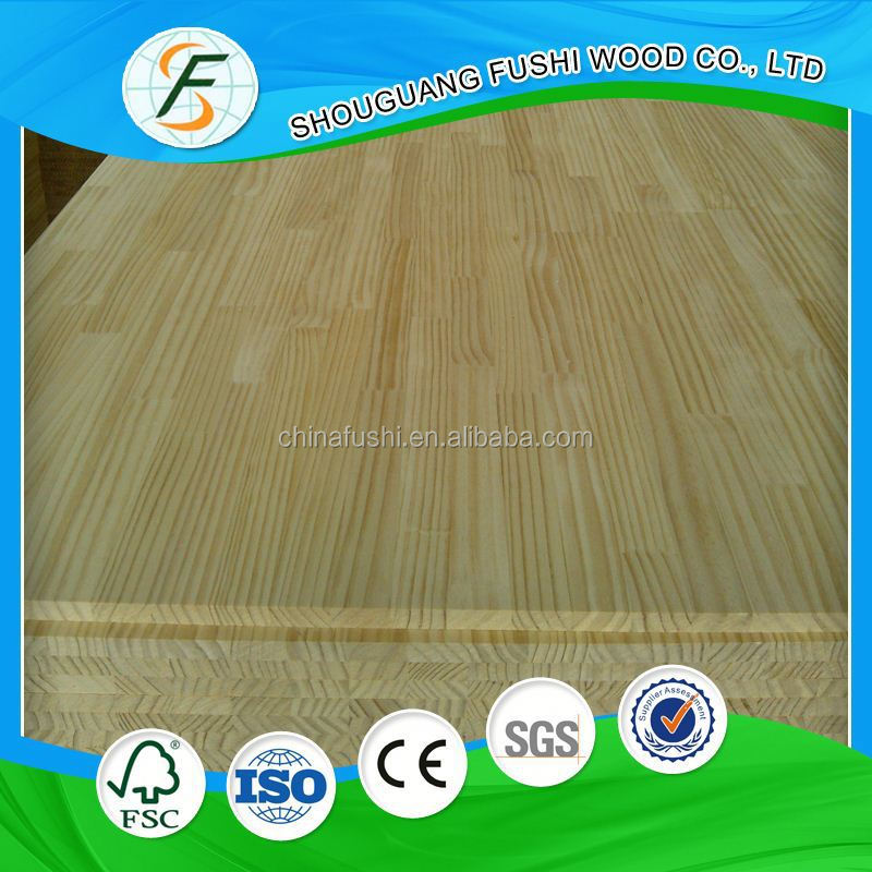 2015 New product chinese cedar wood finger joint board